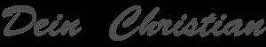 Unterschrift Christian Lainé