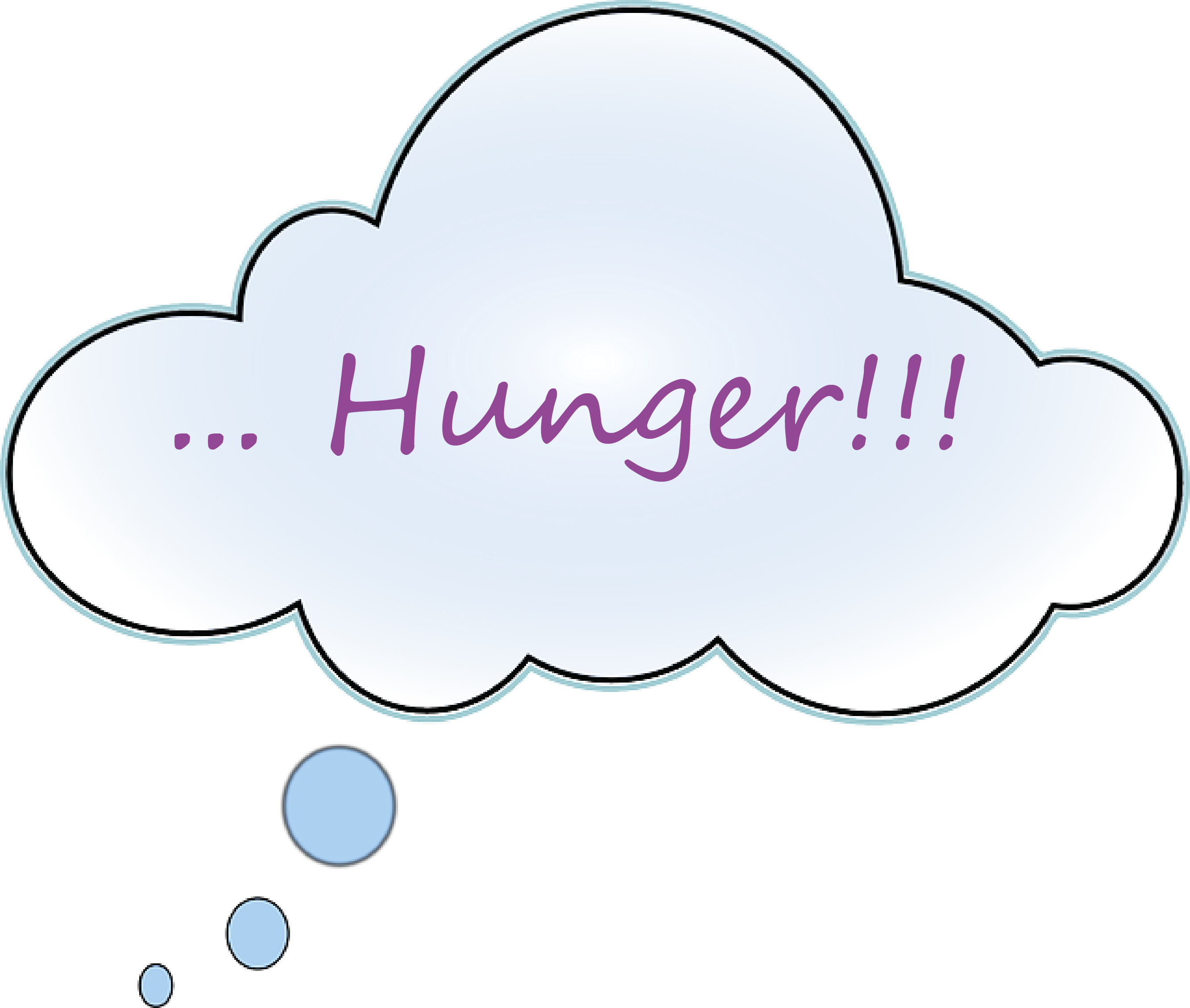 Hunger bei Diät