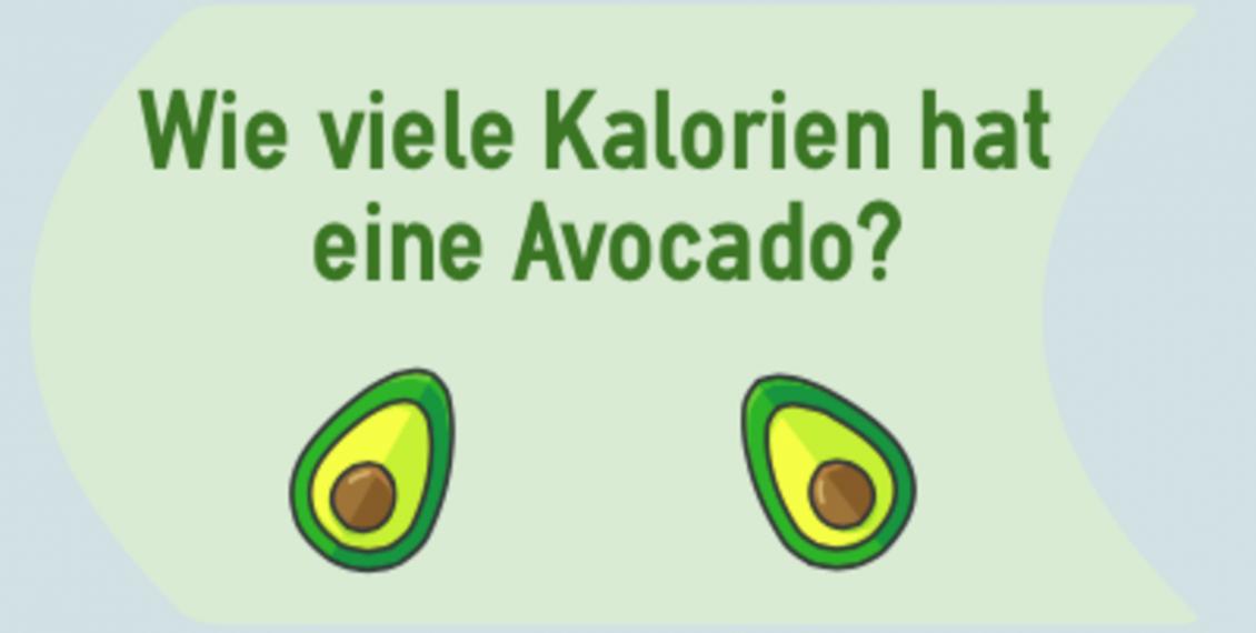 Wie viele Kalorien hat eine Avocado_?