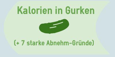Kalorien in Gurken