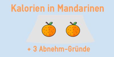 Kalorien in Mandarinen