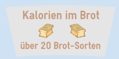 Kalorien im Brot
