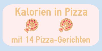 Kalorien In Pizza Der Große Guide Mit 14 Pizza Sorten
