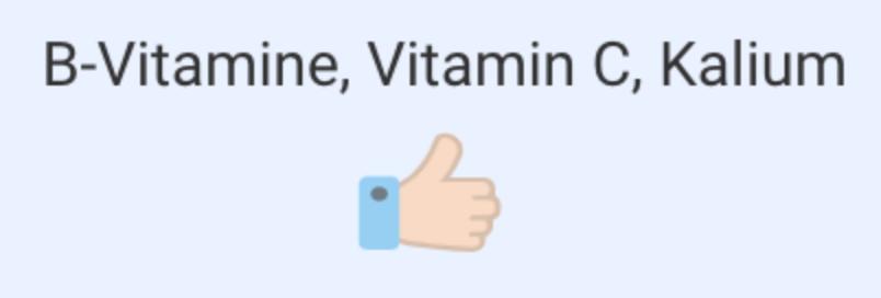 Birnen enthalten viele Vitamine und Mineralstoffe