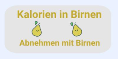 Kalorien in Birnen