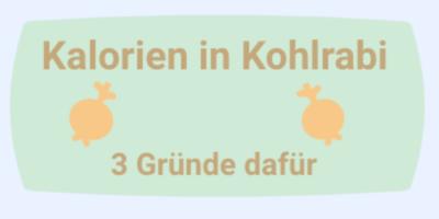Kalorien in Kohlrabi