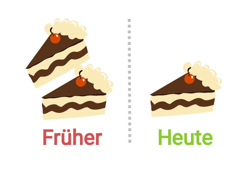 Zuckerfrei leben mit weniger Kuchen