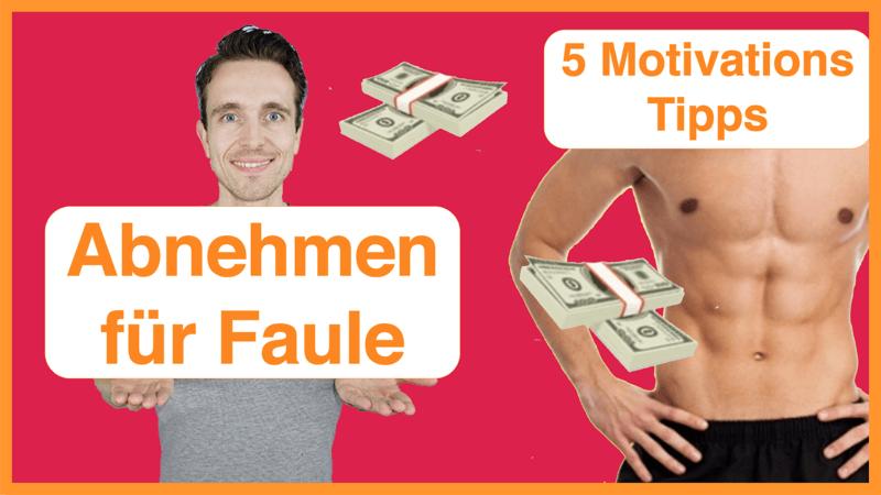 5 Motivations-Tipps zum Abnehmen für Faule_Thumbnail